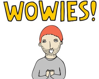 Greeting Card - Wowies (Boy Version)