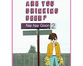 Melbourne Card - Nar Nar Goon