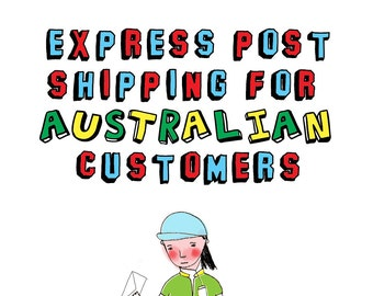 Express Shipping For Australian Customers