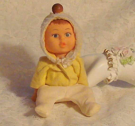 3 Faced Vintage Doll