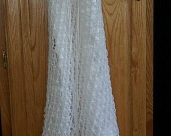 Hand Crocheted Blessing/Christening Dress