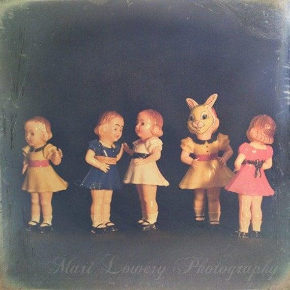 Plastic Vintage Doll 102