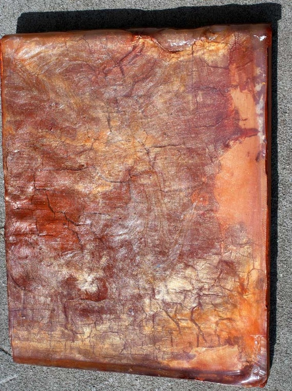 Acrylic Sheet Painting Copper