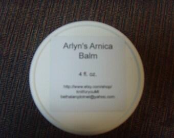 4 oz. Arlyn's Arnica Balm