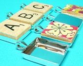 5 Scrabble Pendant Trays