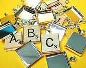 20 Scrabble-size Pendant Trays