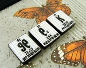 Chemistry Sign Periodic Table Geek Butterfly