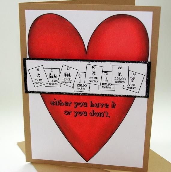 Chemistry Valentine Card
