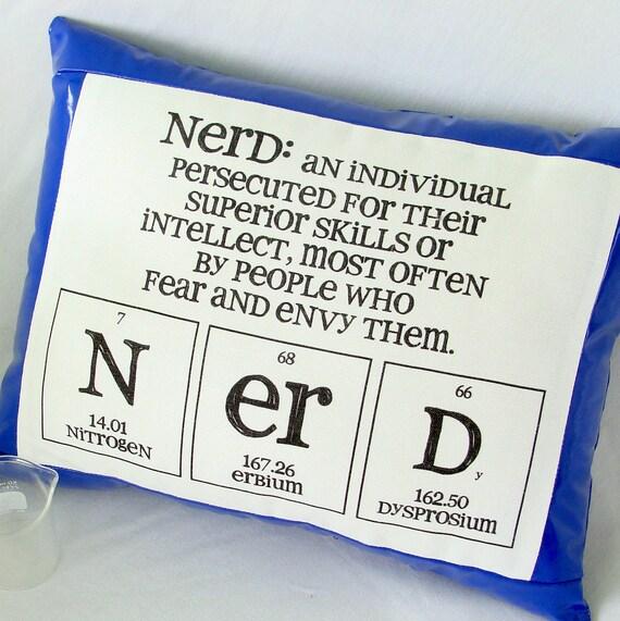 Nerd Pillow - Blue Pleather