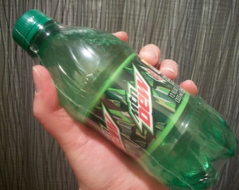 Caffeinated Geeky Shampoo, Mountain Dew type by Inventor DigitalSoaps, Video Game Geek Gift