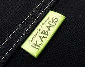 100 Custom Fabric labels SATIN Custom  Printed on color Clothing Labels OEKO TEX certified Delivered Cut
