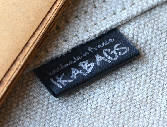 Custom Fabric labels 100 pcs Black SATIN Custom  Printed with Silver ink Apparel Labels Delivered CUT