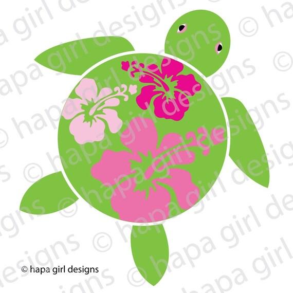 Hawaiian Sea Turtle Clip Art Unavailable Listing on...