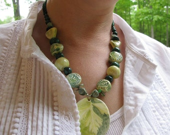 Walk in the Woods Necklace