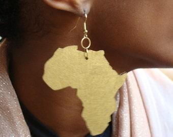Africa earrings/medium
