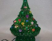 Lighted Berry Bead Christmas Tree
