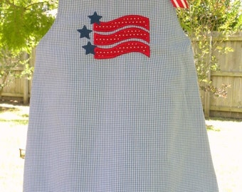 Girls 4th of July Dress or Bubble FREE PERSONALIZATION 3mon- size 5