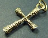 Vintage Cross Pendant  Sterling Silver Pendant