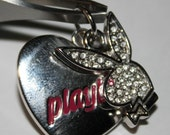 Estate Playboy Bunny Pendants