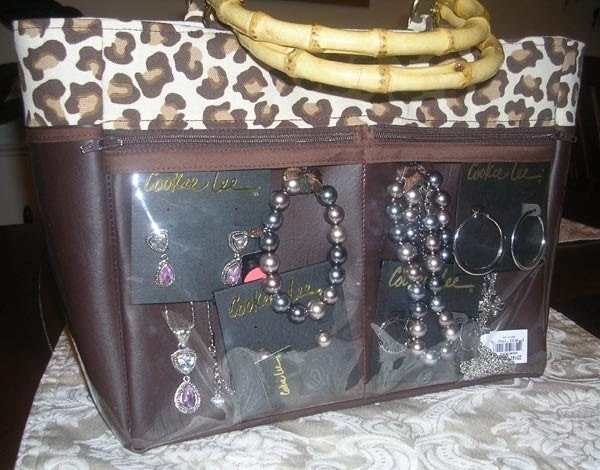 Jewelry Tote Product Display Purse Brag Bag By Quinnleydesigns