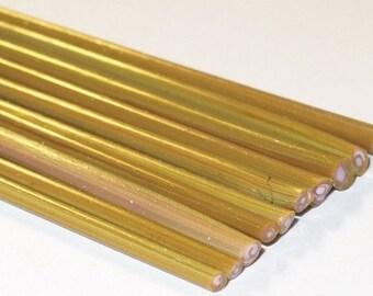 Silvered Calico - Handmade / Handpulled Silvered Stringers - 104 coe Glass - Katie Gee - SRA