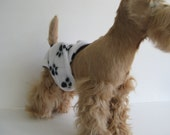 POOCHIE PANTZ paw print female dog diaper, custom made, all sizes