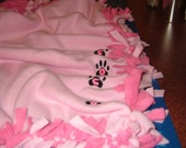 Reserved for Angikay......dog fleece blanket