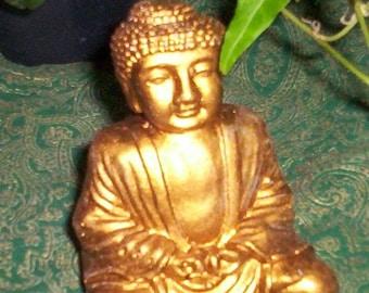 Small 3 inch Meditating Buddha Statue