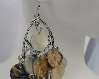 Natural Goddess Chandelier Earrings