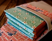 Brag Book for 6 Wallet Photos, Turquoise and Rust