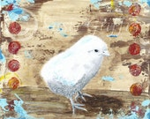 "Baby Chick 8"" x 10"" print"