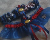 New York GIANTS wedding garter set sexy