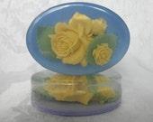 Yellow Rose Bouquet Soap
