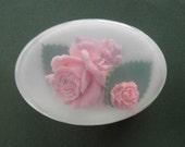 Pink Rose Glycerin Soap