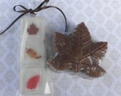 Autumn Leaves Soap Set for Fall and Thanksgiving