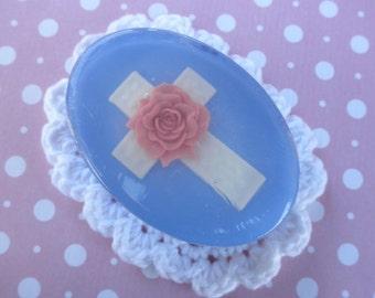 Easter Cross Soap - secret pal, pastor, sister, friend, bible study, church, mother