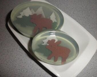 Special Moose or Bear 2Pack Soap Set