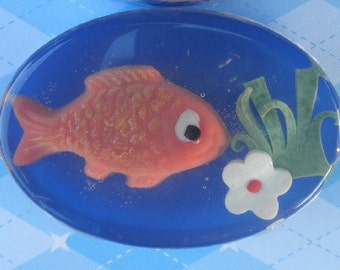 Children's Soap - Orange Goldfish Soap