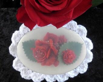 Red Rose Glycerin Soap