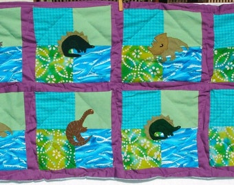 Dinosaur Mini-Quilt for Toddler