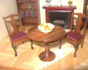 Miniature Splat Back Side Chair Set