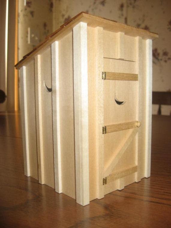 Miniature Outhouse