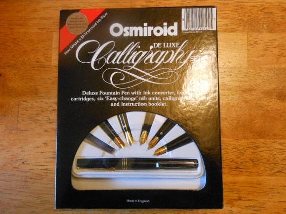 New In Box Osmiroid Calligraphy Set