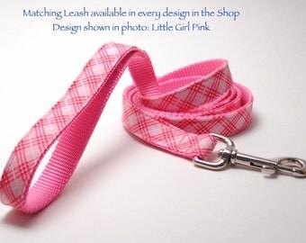 ANY Design 6 foot Custom Dog Leash to Match Collar