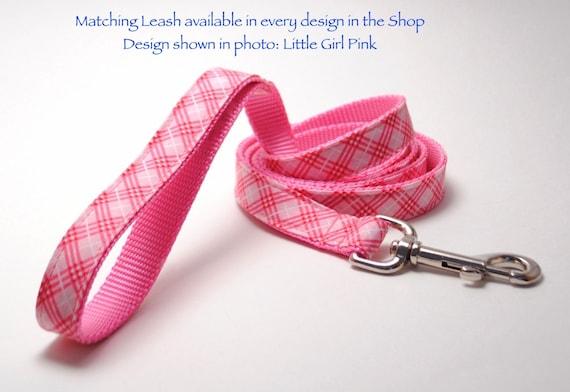 ANY Design 5 foot Custom Leash to Match Dog Collar