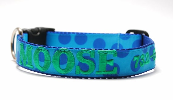 Personalized Dog Collar Name and Phone - Choose your Design