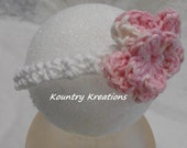 Spring Fling Headband with a Flower (Ready to Ship)