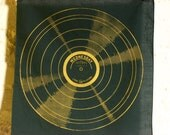 Handkerchief with Silkscreened GOLD RECORD - Wednesday