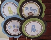 Monkey Theme Table Top Centerpiece Sign - You Choose The Colors