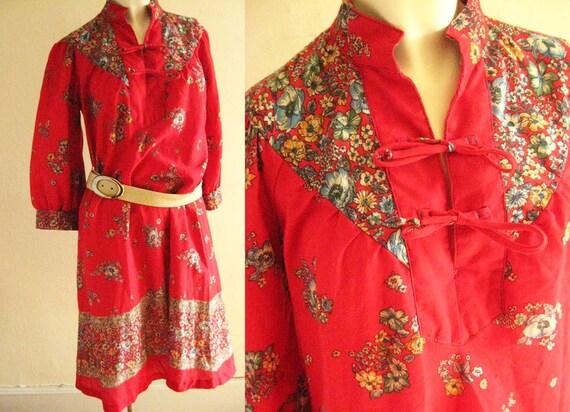 Iconic Early 1970's Plain Jane Prairie Dress
